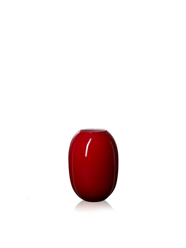 SUPER vase fra Piet Hein (Rød/Opal)