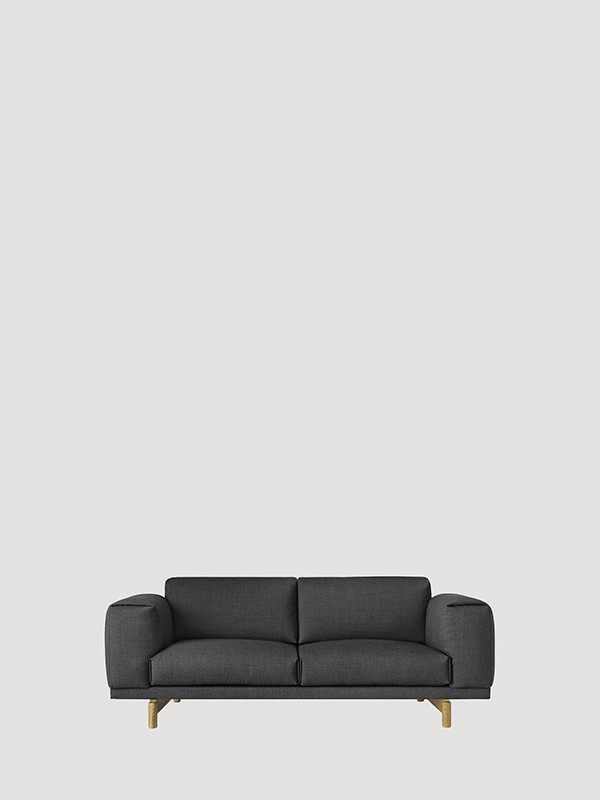 Rest 2 pers. sofa fra Muuto