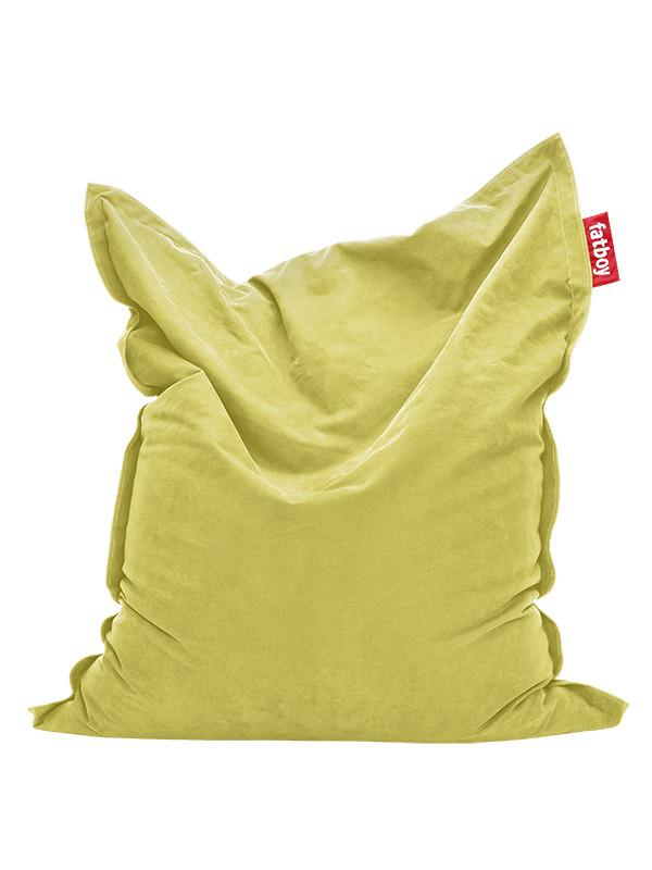 Lime grøn, Original Stonewashed sækkestol fra Fatboy