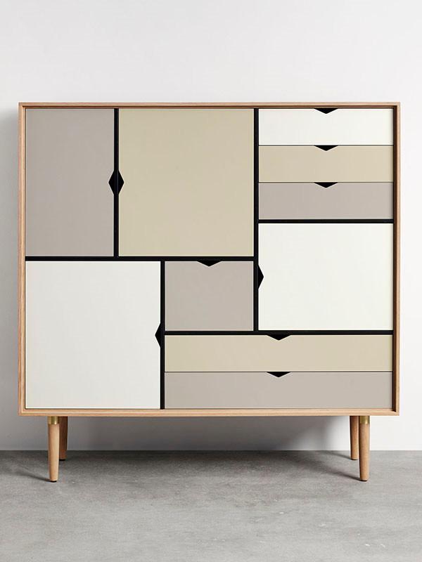 S3 opbevaringsmøbel i egetræ fra Andersen Furniture
