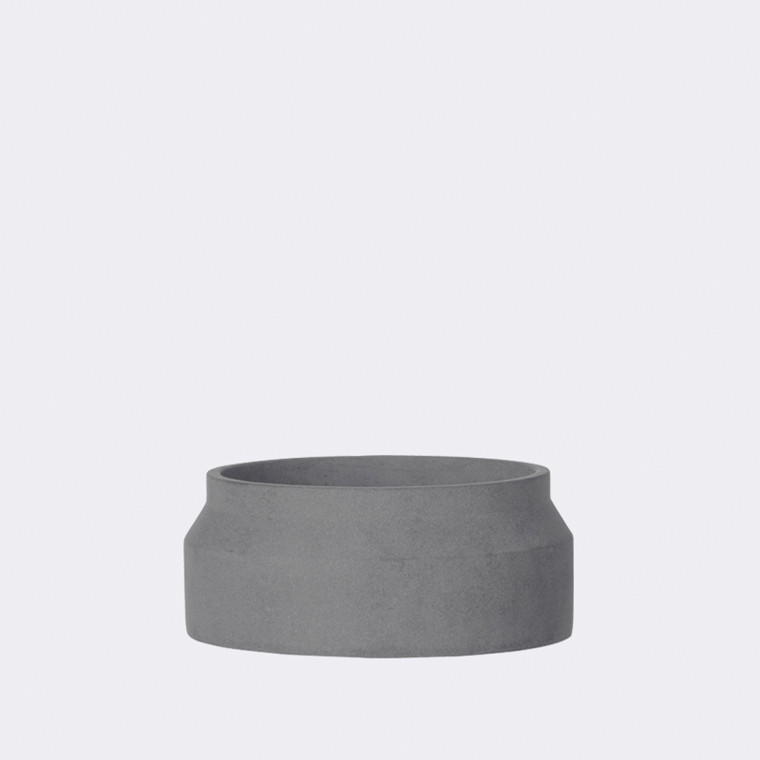 Pot  dark grey small fra Ferm Living