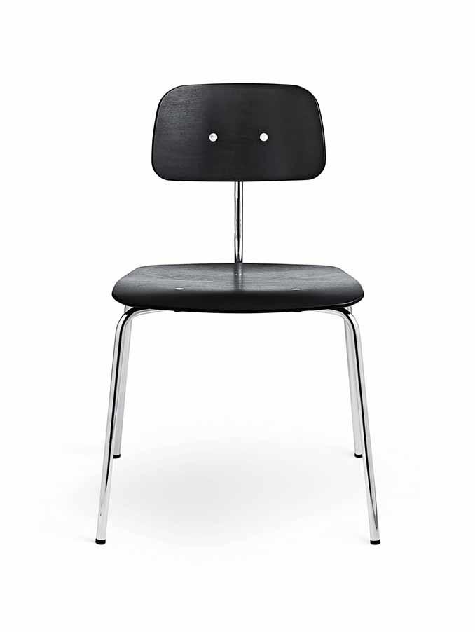 Kevi 2060 stol i sort lak fra Engelbrechts