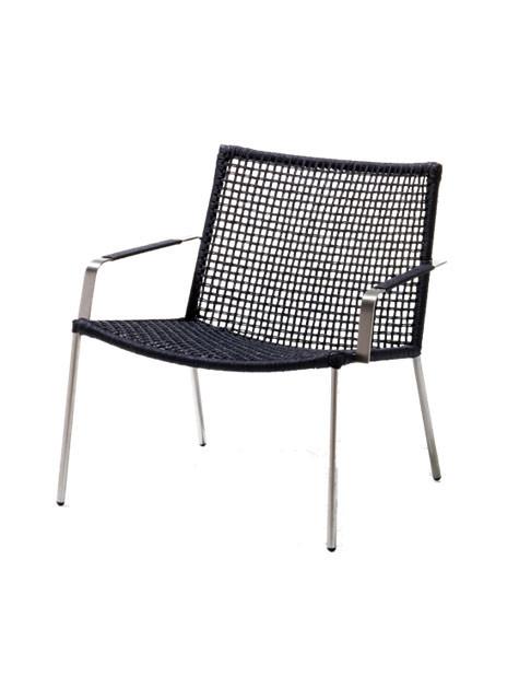 Straw lounge stol fra Cane-line