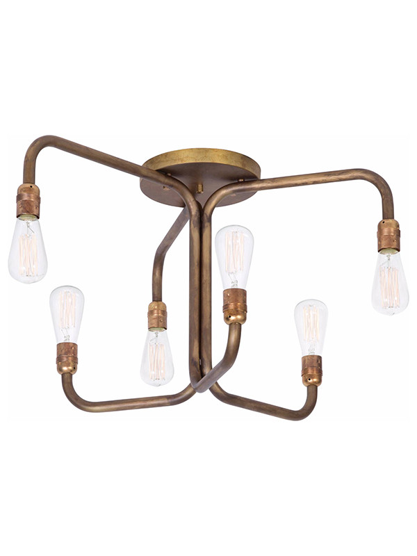 Strapatz loftlampe fra Konsthantverk
