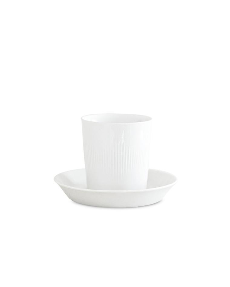 Thermodan kop m/ underkop fra Lyngby Porcelæn