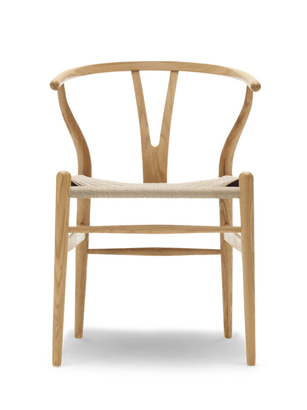 Tilbud på Y stolen i eg olie fra Carl Hansen