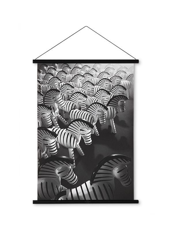 Zebra kunstfoto af Kay Bojesen