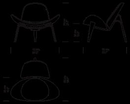 CH07 Skalstolen af Hans J. Wegner