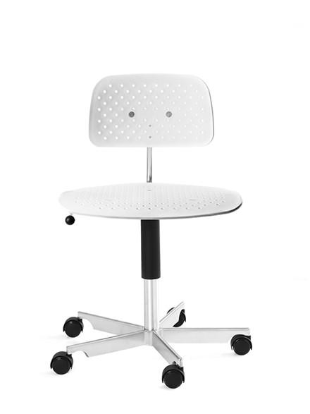 Kevi Air kontorstol, hvid fra Engelbrechts