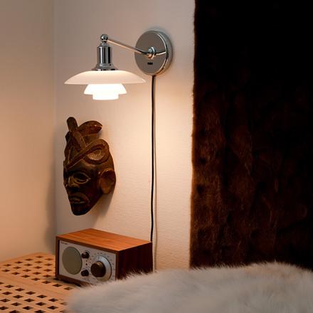 PH 2/1 væglampe fra Louis Poulsen