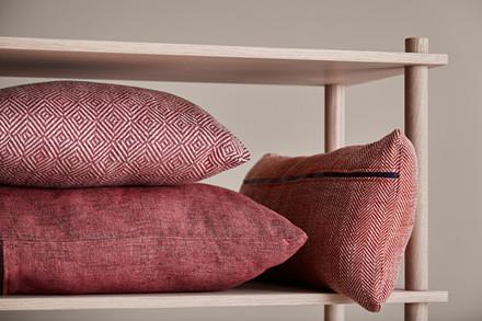 Herringbone cushion fra Woud