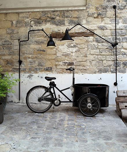 Nr. 217XL udendørs væglampe fra Lampe Gras
