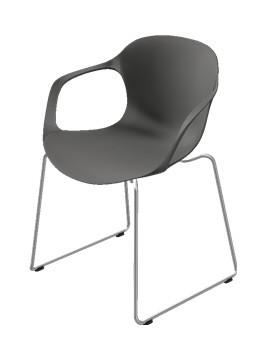 Nap stol uden armlæn | Køb spisestol fra Fritz Hansen her