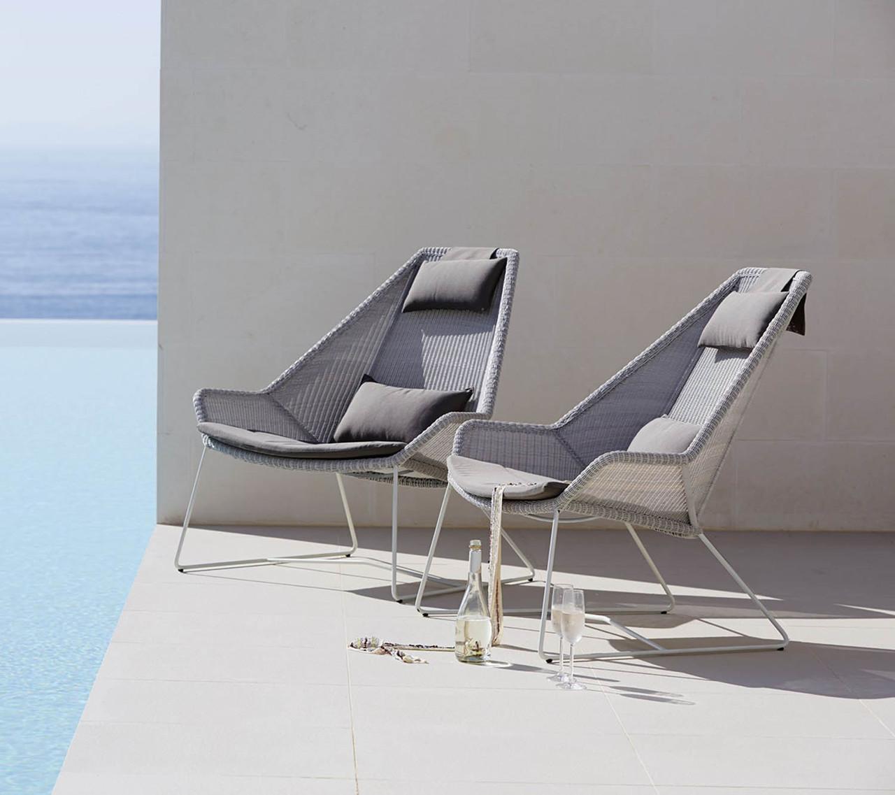 Breeze highback stol | Køb Cane line stolen med høj ryg