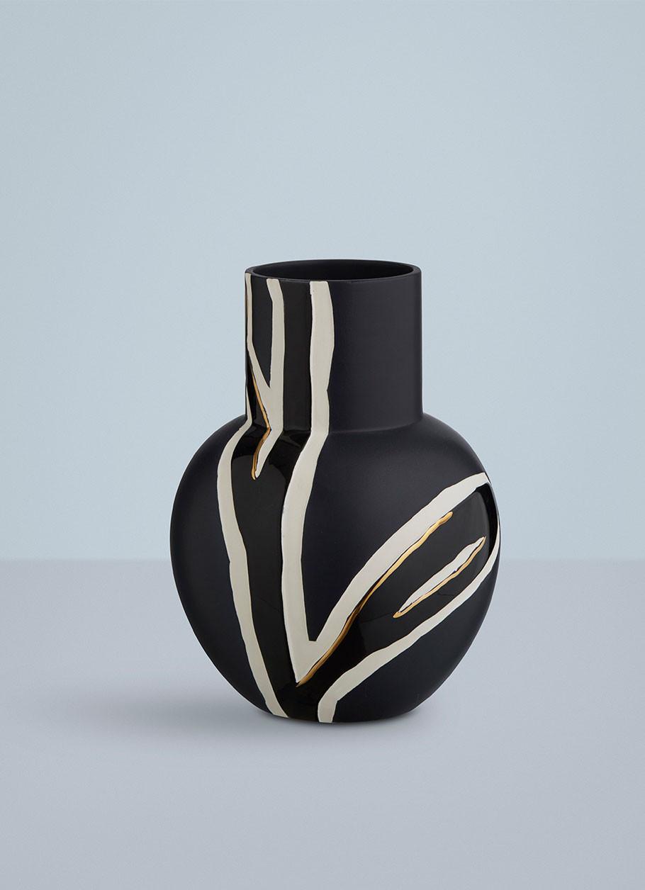 Unik Fiora vase af Stine Goya | Køb Kähler vasen i blå her LL58