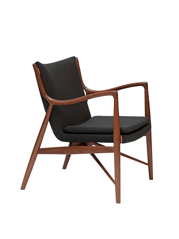 finn juhl stol 45 lænestol | Køb Finn Juhl lænestol her finn juhl stol