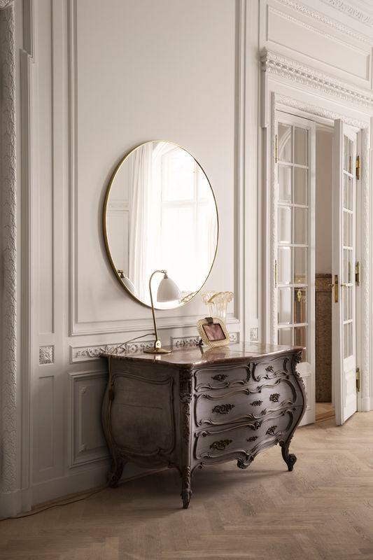Gubi spejl Ø110 | Køb det store Gubi spejl her