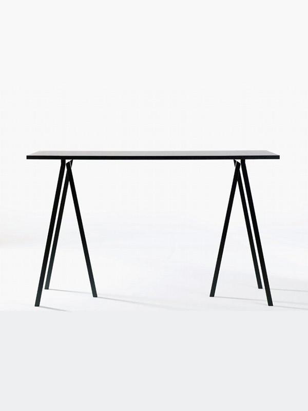 hay loop stand high table k b det h je hay loop bord. Black Bedroom Furniture Sets. Home Design Ideas