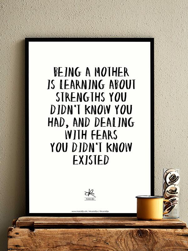 mors dag citat Mors Dag plakat | Køb tryk med Kasia Lilja citat mors dag citat