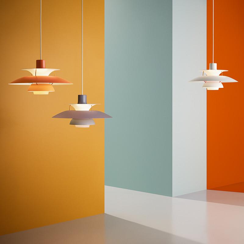 ph 5 lampe k b pendlen af poulsen henningsen her. Black Bedroom Furniture Sets. Home Design Ideas
