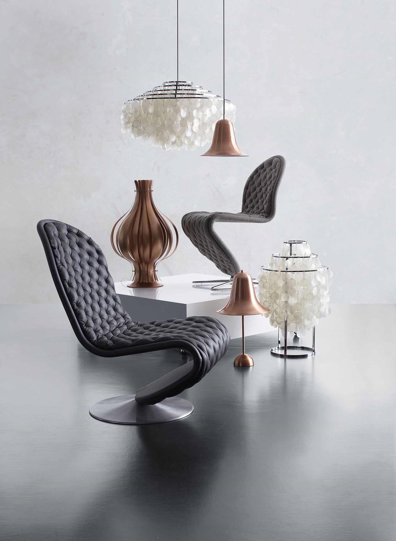 Flot Pantop bordlampe | Køb bordlampen fra Verpan her DF-09