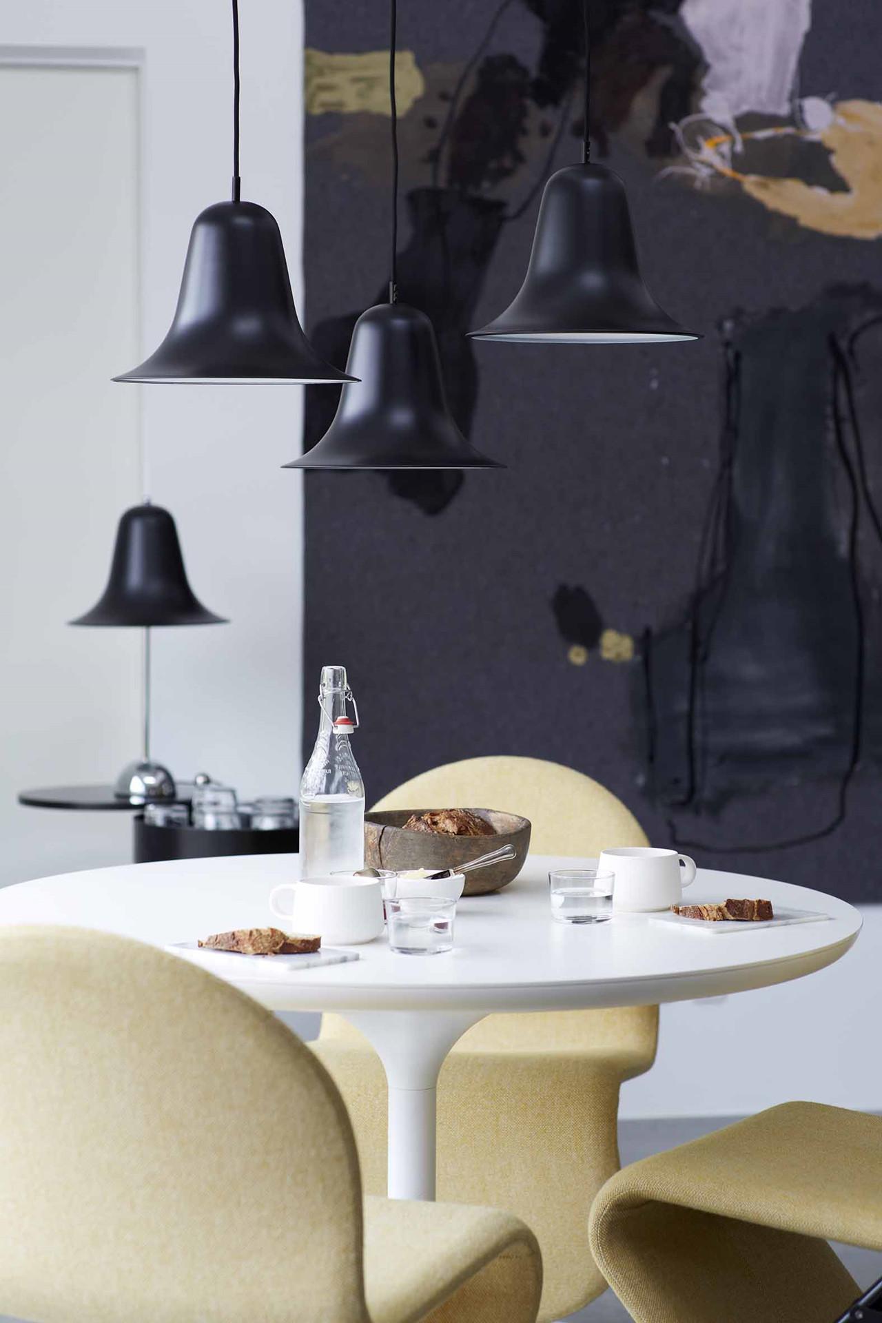 Smuk Pantop bordlampe | Køb bordlampen fra Verpan her FD-88