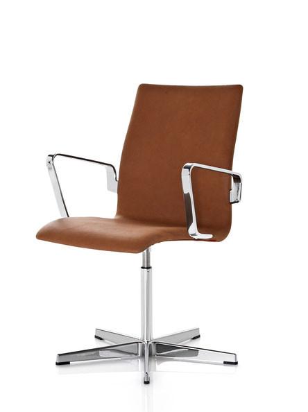 oxford classic k b fritz hansen armstol med l der. Black Bedroom Furniture Sets. Home Design Ideas