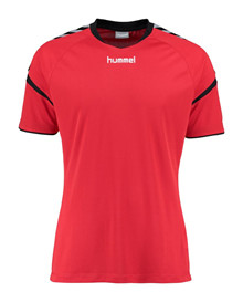 hummel charge t-shirt rød unisex