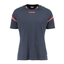 hummel aut charge t-shirt grå