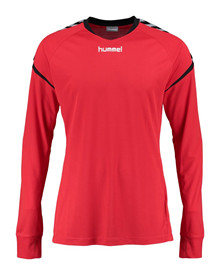 hummel charge LS t-shirt rød