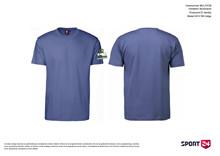 Holstebro Stykesport bomulds stævne t-shirt blå