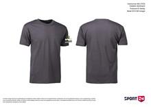 Holstebro Stykesport bomulds stævne t-shirt grå
