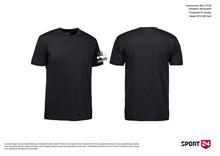 Holstebro Stykesport bomulds stævne t-shirt sort