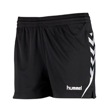 hummel aut charge shorts dame sort