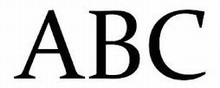 stort navn ryg hvid, 4 cm bogstaver