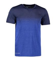 Bøvling Geyser stribe t-shirt herre blå