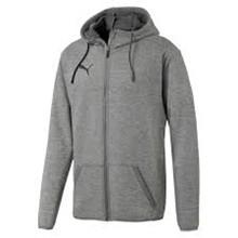 HESA Puma hættetrøje med lynlås grå