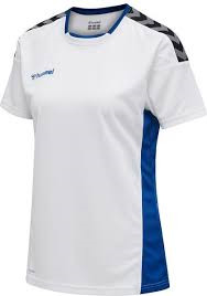 HH90 trænings t-shirt blå hvid