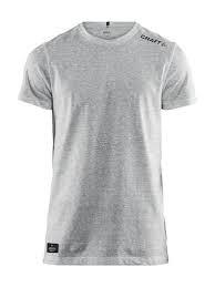 Hardsyssel bomulds t-shirt Craft grå