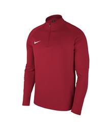 VGF89 ½ zip sweat rød