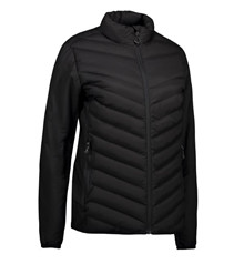 Hardsyssel padded jacket sort dame