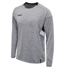 hummel Tech move LS t-shirt grå