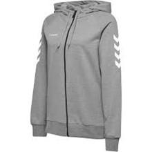 HGF zip sweat grå