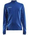 Bøvling Craft ½ zip sweat blå