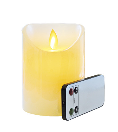 LED-STEARINBLOKLYS 10 CM
