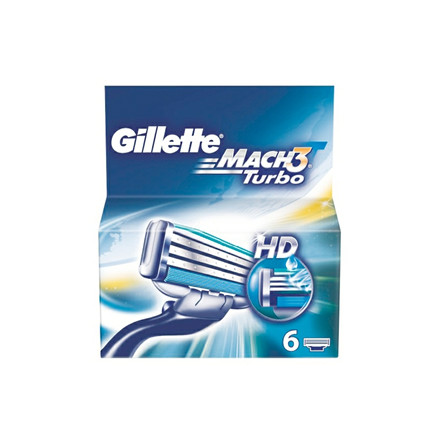 Barberblade Gillette Mach3 Turbo 6 pk