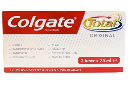 2X75 ML COLGATE TOTAL--