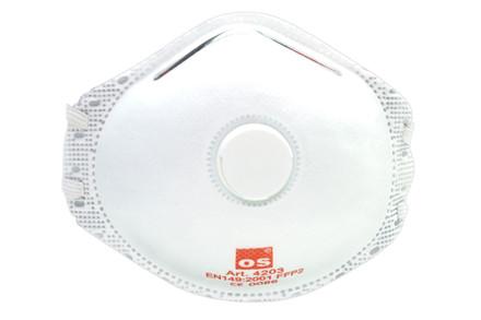 Beskyttelsesmaske FFP2 m/ventil 10 stk