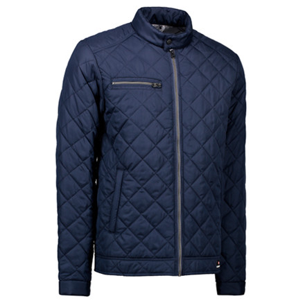 Jakke Quilted Navy
