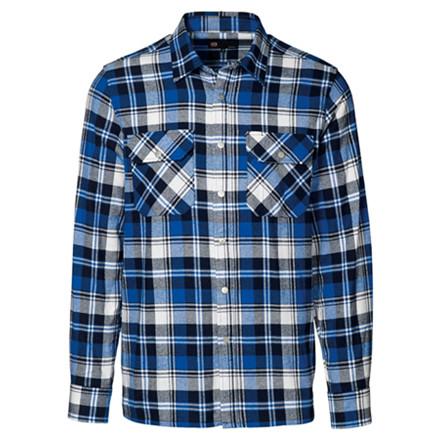 Skjorte Blå/Sort  43/44 Tern